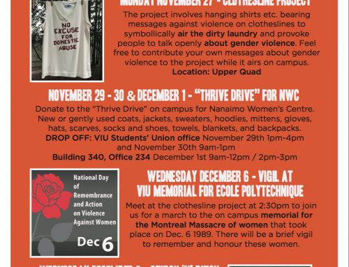 16 Days of Activism Events
