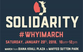 #whyimarch Solidarity