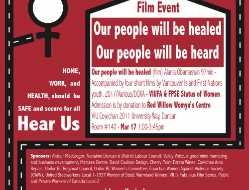 Our People Will Be Healed, Our People Will Be Heard: A Fundraising Film Event