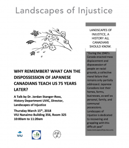 Landscapes of Injustice Poster