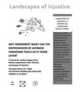 Landscapes of Injustice Poster