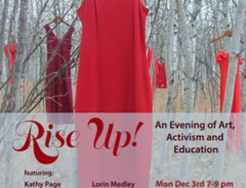 Rise Up! An Evening of Art, Activism, and Education Monday Dec 3rd